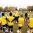 Sambafotbollsskola besöker Frederiksund i Danmark