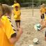 Sambafotbollsskola besöker Ringsted i Danmark