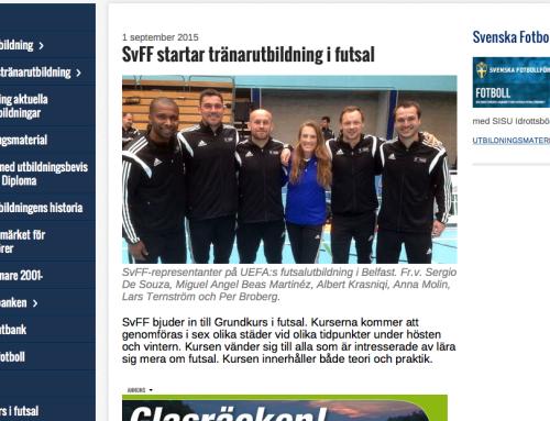 SvFF startar tränarutbildning i futsal !