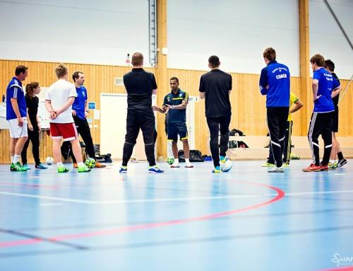 Första futsal utbildningen för tränare genom SVFF!