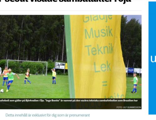 Sambafotbollsskola i Ystad Sommaren 2019!