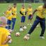 Sambafotbollsskola återbesöker Ringsted i Danmark